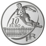 10 euros argent Stade Toulousain Rugby 2010