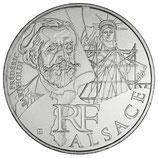 10 euros argent Alsace 2012