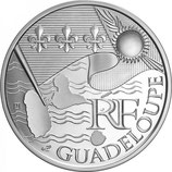 10 euros argent Guadeloupe 2010