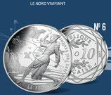 10 euros argent Le Nord vivifiant 2017