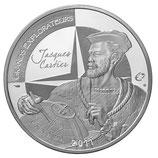 10 euros argent Jacques Cartier 2011