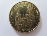 Médaille MDP Rouen. Cathédrale Notre Dame de Rouen 2013