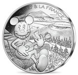 10 euros argent Mickey Ode aux volcans 2018 16/20