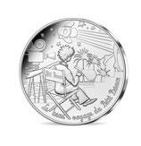 10 euros argent Petit prince fait du cinéma 2016