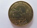 Médaille MDP  Tavant. Eglise romane Saint Nicolas. XIIe siècle. Le pélerin 2009