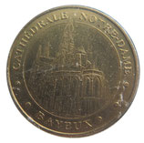 Médaille MDP Bayeux Cathédrale Notre Dame 2006