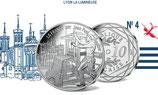 10 euros argent Lyon la lumineuse 2017