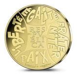 500 euros Astérix 2015 en or