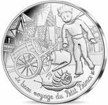 10 euros argent Petit prince à la campagne