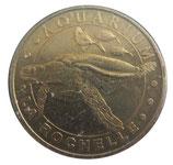 Médaille MDP La Rochelle Aquarium Tortue imbriquée 2007