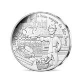 10 euros argent Petit prince et la gastronomie 2016
