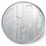 10 euros argent Europa 50 ans de coopération spatiale européenne 2014