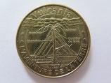Médaille MDP Saint Ours les Roches. Vulcania. L'avanture de la Terre. Volcan en coupe 2013