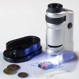 Microscope avec zoom x 20-40