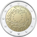 2 euros Drapeau Européen France 2015