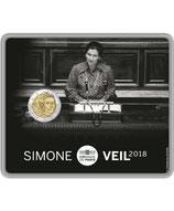 2 euros BU Simone Veil 2018