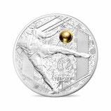 10 euros argent Reprise BE Coupe de l'UEFA Football Euro 2016