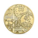 50 euros Semeuse 2016 en or 1/4 oz