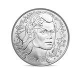 100 euros Marianne Fraternité 2019 en argent