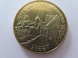 Médaille MDP Carcassonne. Cité de Carcassonne. La Porte d'Aude 2010