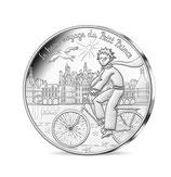 10 euros argent Petit prince visite les châteaux 2016