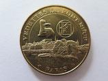 Médaille MDP Paris. Vedettes du Pont-Neuf. La proue et le logo 2013