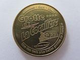 Médaille MDP Courry. Grotte de la cocalière. Site naturel protégé 2010