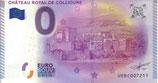 Billet touristique 0€ Château royal de Collioure 2015