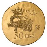 50 euros François Ier 2013 en or 1/4 oz