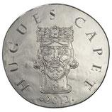 10 euros argent Hugues Capet 2012