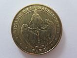 Médaille MDP Paris. Eglise de la Madeleine. Le ravissement de Marie-Madeleine 2011