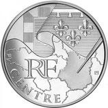 10 euros argent Centre 2010