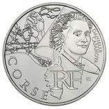 10 euros argent Corse 2012