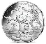 10 euros argent Mickey Voile à l'horizon 2018 19/20