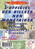 L'officiel des billets non monétaires 2015