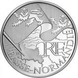 10 euros argent Basse-Normandie 2010