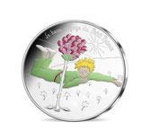 50 euros argent Petit prince Rose 2016