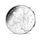 50 euros argent Petit prince Mouton 2016