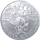 10 euros argent Languedoc-Roussillon 2011
