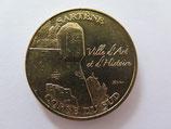 Médaille MDP Sartene. Ville d'art et d'histoire. L'échauguette 2011