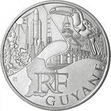 10 euros argent Guyane 2011