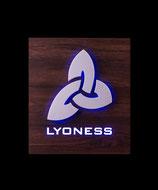 Lyoness Symbol Nuß HPL-Beschichtet