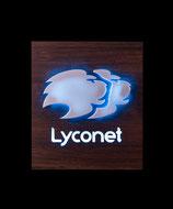 Lyconet Symbol Nuß HPL-Beschichtet