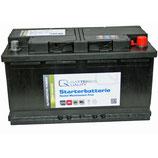 Q-Batteries Starterbatterie 568 64 Q68 12V 68Ah 640A (EN), wartungsfrei