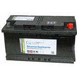 Q-Batteries Starterbatterie 588 72 Q88 12V 88Ah 720A (EN), wartungsfrei