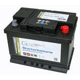 Q-Batteries Starterbatterie 560 54 Q60 12V 60Ah 540A (EN), wartungsfrei