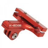 K-Edge GoBig Pro Saddle Rail Mount red