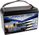 LIFEPO4 Akku 100AH 12V, 13,9kg ,Bluetooth