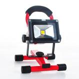 LED - FLUTER 10 W mit Akku