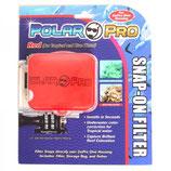 PolarPro SnapOn Rotfilter für GoPro Dive Housing